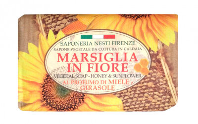 ND Мыло Honey & Sunflower / Мед и подсолнух 125 гр