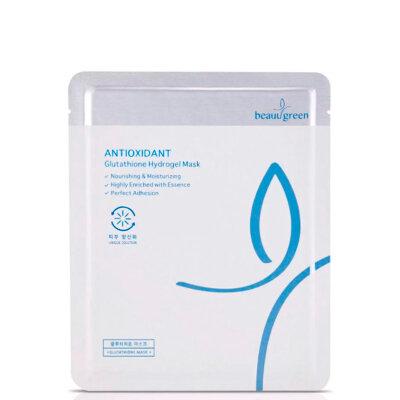 BeauuGreen маска гидрогелевая антивозврастная с глутатионом | BeauuGreen Antioxidant Glutathione Hydrogel Mask