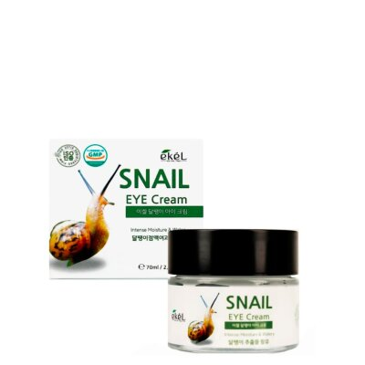 Ekel крем для глаз с муцином улитки | Ekel Snail Eye Cream