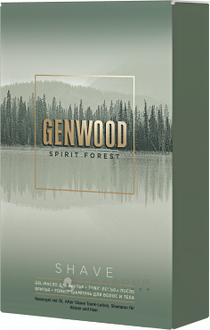 GW/SH Набор GENWOOD shave (шампунь, гель-масло, лосьон)