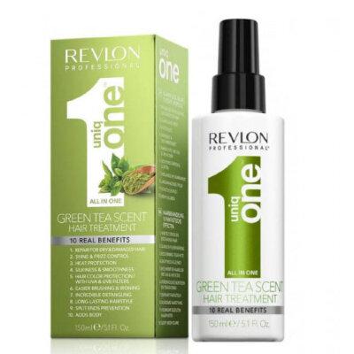 Rvln Uniq One Спрей-маска для ухода за волосами с ароматом зеленого чая 150мл