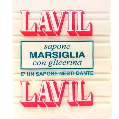 ND Мыло Lavil White Laundry Soap / Лавил  2*250 гр