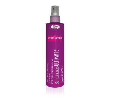 Разглаживающий, термо-защищающий флюид для волос «3-LISAP ULTIMATE STRAIGHT FLUID»250мл