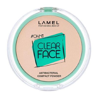Ламель проф Пудра для лица OhMy Clear Face Powder 403 розово-бежевый
