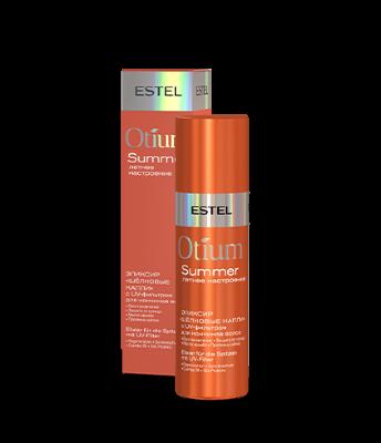 """Est OT/S/V100 Эликсир """"Шёлковые капли"""" с UV-фильтром для кончиков волос OTIUM SUMMER, 100 мл"""