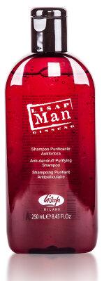Шампунь для волос против перхоти для мужчин «Lisap Man Anti-Dandruff Purifying Shampoo»250мл