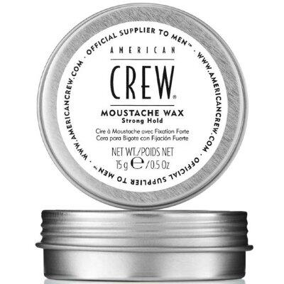 AmCrew Стойкий воск для усов сильной фиксации для укладки и питания волос на лице Moustache wax, 15 г.