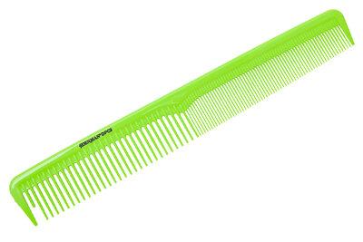 Расчёска Denman Neon Green комбинированная 18 см