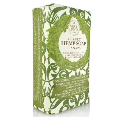 ND Мыло Luxury Hemp Soap/Роскошное Конопляное 250 гр