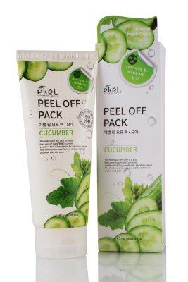 Ekel маска-пленка увлажняющая и успокаивающая с экстрактом огурца | Ekel Peel Off Pack Cucumber