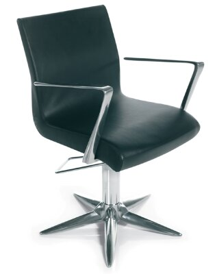 Кресло парикмахерское ALUOTIS ECOBLACK