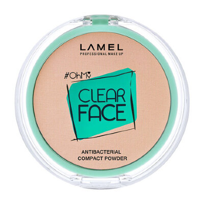 Ламель проф Пудра для лица OhMy Clear Face Powder 404 бежевый
