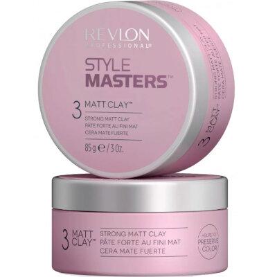 Rvln  STYLE MASTERS CREATOR MATT CLAY Глина моделирующая для волос  85мл