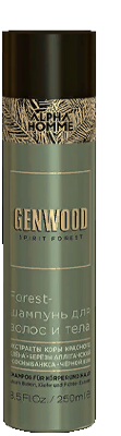 GW/SG Forest-шампунь для волос и тела GENWOOD, 250 мл