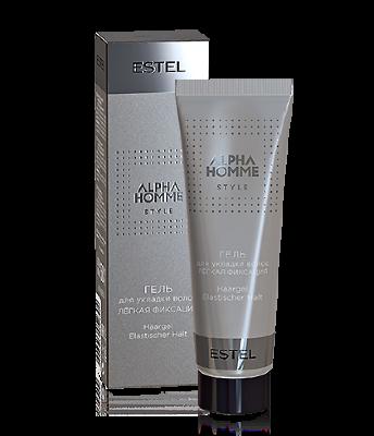Est OTIUM HOMME Гель для укладки волос легкая фиксация ESTEL ALPHA HOMME, 50 мл