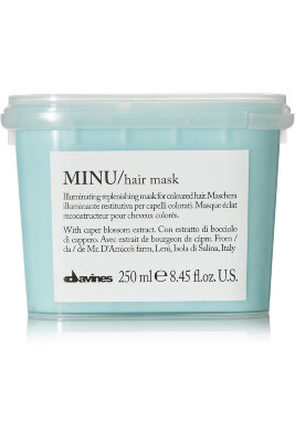 DVNS Ess MINU hair mask - Восстанавливающая маска для окрашенных волос 250ml