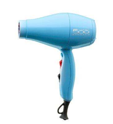 Профессиональный фен 500 Compact 2000Вт голубой