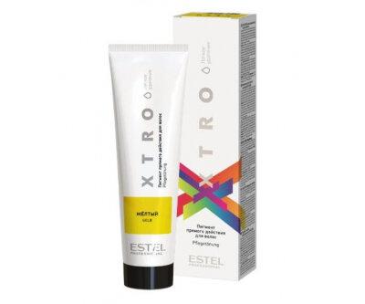 EX/NY Пигмент прямого действия для волос XTRO WHITE Желтый, 100 мл