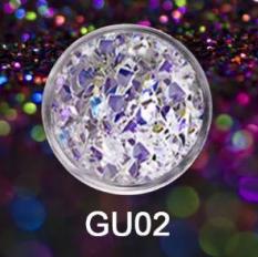 Wula nailsoul глиттер GU02