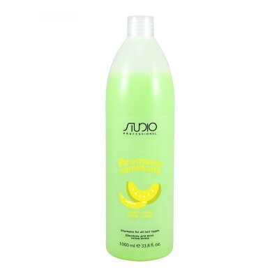 Шампунь для всех типов волос «Банан и дыня», 1000мл