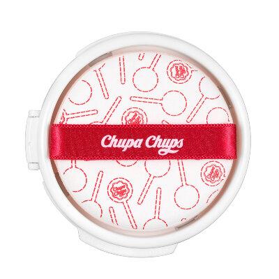 Chupa Chups блок сменный для тональной основы-кушона | Chupa Chups Candy Glow Cushion Strawberry SPF 50+ PA++++ Refill