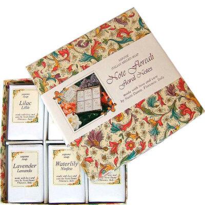 ND Набор мыла Note Floreali / Цветочные ноты 6*100 гр