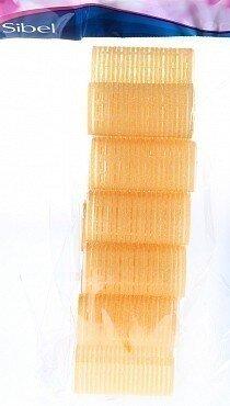 Бигуди-лип.(10)S 32мм желтые 12шт/уп - SIBEL арт.4123549