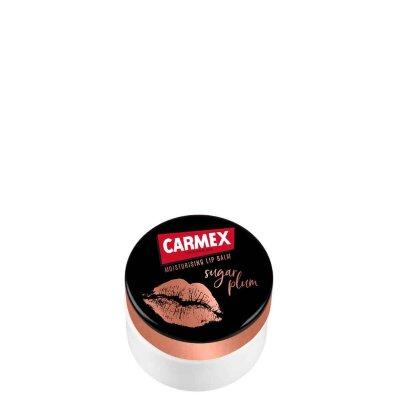 Carmex бальзам для губ с сахарной сливой SPF 15 (в баночке) | Carmex Ultra Moisturising Lip Balm Sugar Plum SPF 15