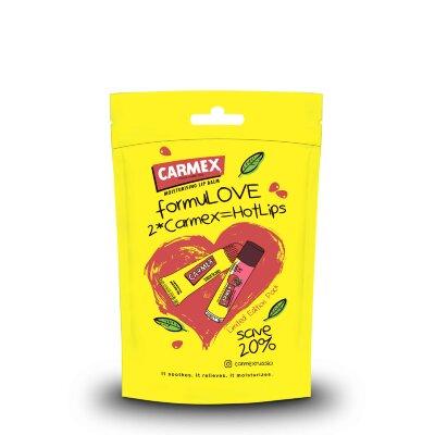 Carmex набор бальзамов с классическим и гранатовым ароматом | Carmex Balm Set