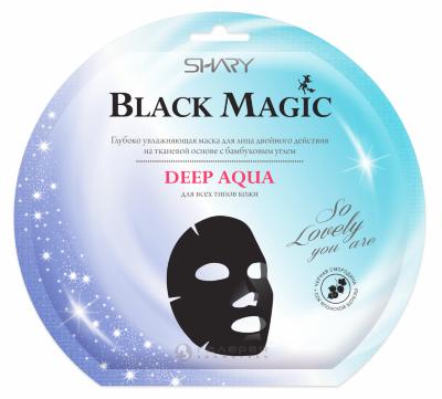Shary Black magic Глубоко увлажняющая маска для лица DEEP AQUA, 20г.