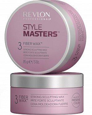 Rvln STYLE MASTERS Воск моделирующий для волос Revlon Professional Creator Fiber Wax 85мл