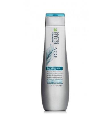 БИОЛАЖ КЕРАТИНДОЗ Шампунь для реставрации сильно поврежденных волос с комплексом PRO-KERATIN+экстракт шелка Biolage Keratindose Shampoo 250 мл