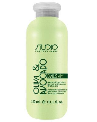 Бальзам увлажняющий для волос с маслами авокадо и оливы, 350мл
