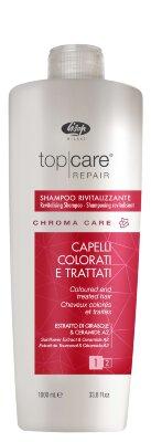 Оживляющий шампунь для окрашенных волос – «Top Care Repair Chroma Care Revitalizing Shampoo»1000мл