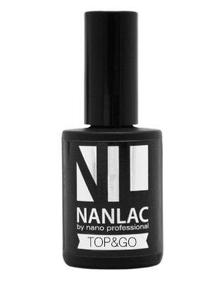 гель-лак защитный NANLAC Top & Go 15 мл