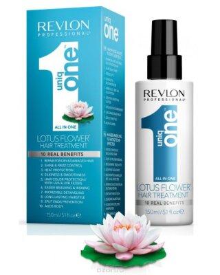 Rvln Uniq One Спрей-маска для ухода за волосами с ароматом лотоса 150 мл.