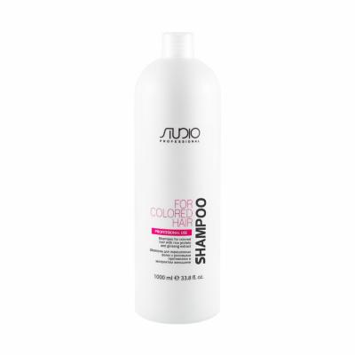 Шампунь для окрашенных волос с рисовыми протеинами и экстрактом женьшеня, 1000мл
