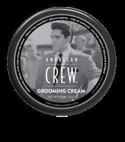 AmCrew Крем для укладки волос Grooming Cream 85 мл с сильной фиксацией и высоким уровнем блеска