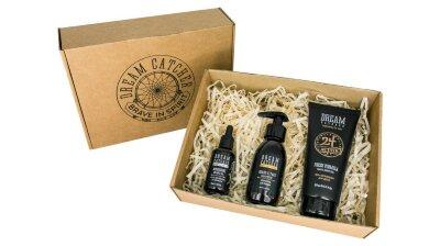 DREAM CATCHER Подарочный набор №3 - шампунь для бороды, масло для бороды, гель для душа