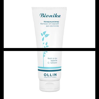 OLLIN BioNika Кондиционер Баланс от корней до кончиков 200мл/ Roots To Tips Balance Conditioner