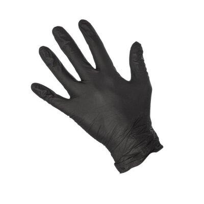 Перчатки нитриловые ESTEL M'USE (черные, М) 100 шт