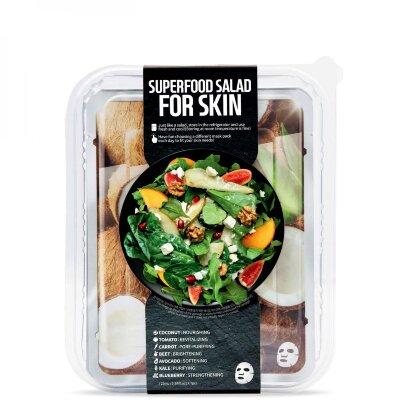 Superfood Salad for Skin набор из 7 тканевых масок для кожи, потерявшей здоровое сияние | Superfood Salad for Skin Facial Sheet Mask 7 Set When Your Skin Has Lost Its Glow
