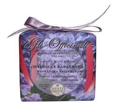 ND Мыло Hydrangea & Rhubarb / Гортензия и ревень 200 гр