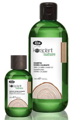 Успокаивающий шампунь для чувствительной кожи головы - Keraplant Nature Skin-Calming Shampoo  250мл