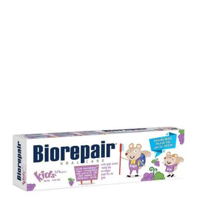 Biorepair зубная паста детская со вкусом винограда | Biorepair Kids Grape