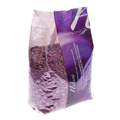 Воск горячий (пленочный)  ITALWAX Слива гранулы 1 кг