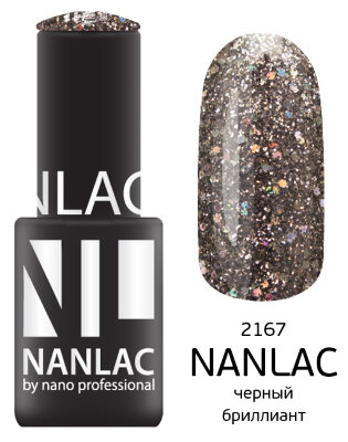 NL 2167 черный бриллиант 6 мл