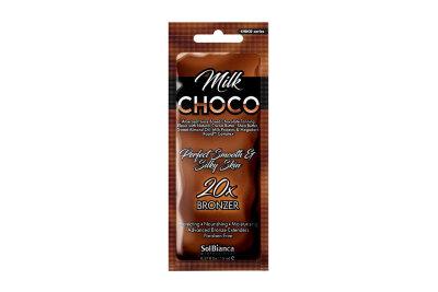 "Крем для загара в солярии ""Choco Milk"" с маслами какао,ши,миндаля, протеин.молока,витамин.""20"" 15 мл"