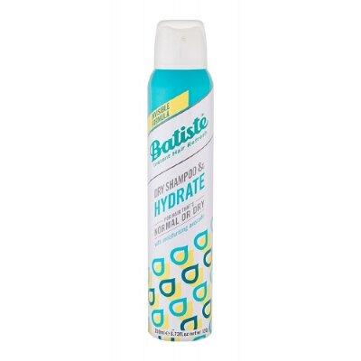 БАТИСТ Сухой шампунь Batiste HYDRATE увлажняющий для нормальных и сухих волос 200 мл