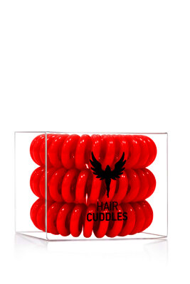 "Hair Bobbles резинка для волос в цвете ""Красный""   Hair Bobbles Christmas Red"